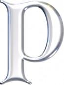透明P边框素材