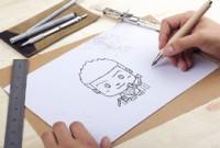 金融类《卡通形象》草稿到正稿的制作解析