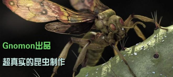 The Gnomon Workshop-超真实的昆虫制作