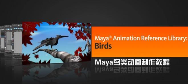 Maya鸟类动画制作教程