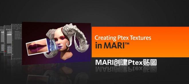 MARI创建Ptex贴图(Digital Tutors出品)