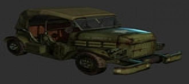 次世代—复古军车制作过程