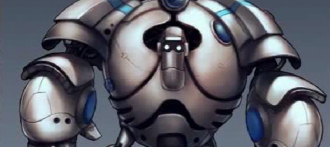 PS游戏原画之人型机械铁拳设计