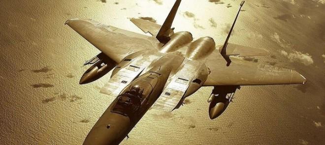 MAYA-F15战机模型制作