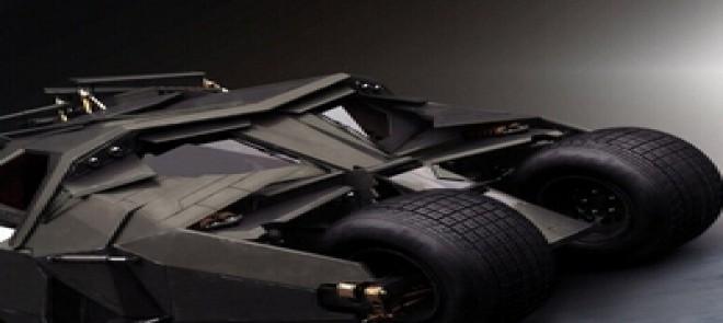 MAYA-蝙蝠侠战车