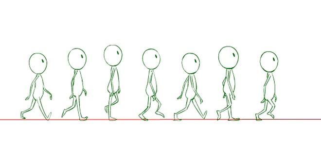 Boom Animate Pro步行周期动画制作