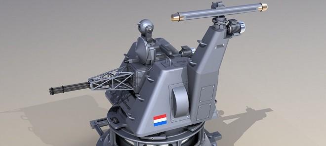 C4D机枪炮塔制作训练