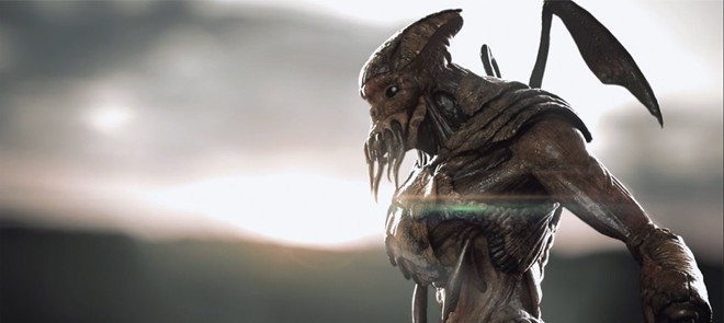 Maya和V-Ray制作怪物