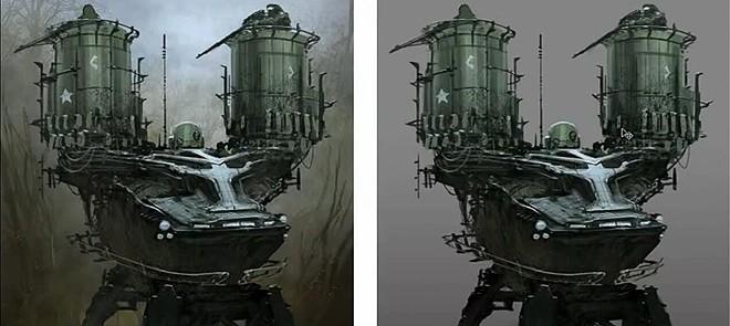 Photoshop中狙击手车辆设计教程