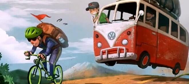 《巴士走起》游戏原画绘制教程