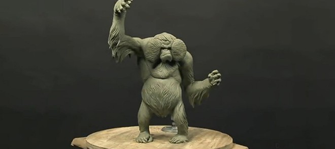 怪物角色泥雕教程