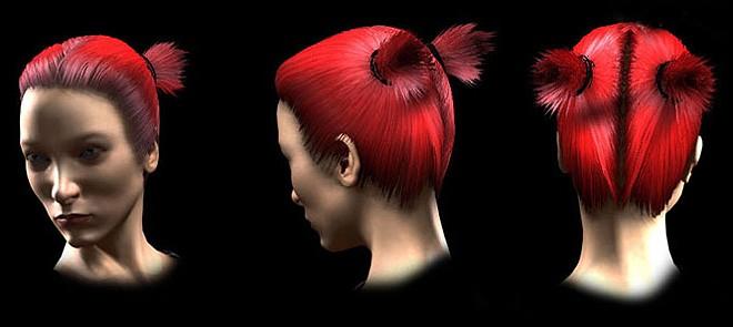 Maya Hair 发型设计