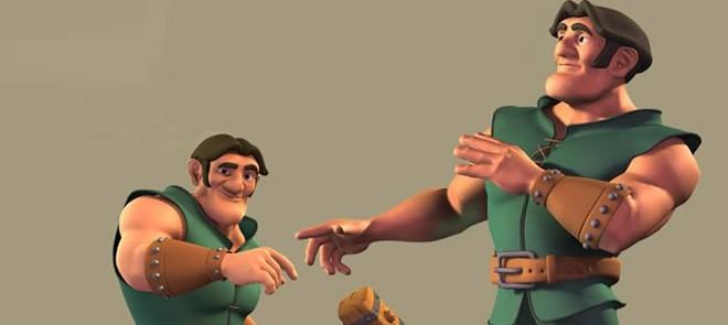 Maya多角色互动动画技术教程