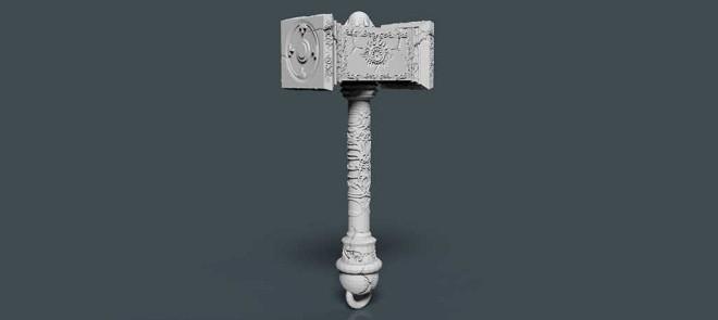 Zbrush高精度战锤模型