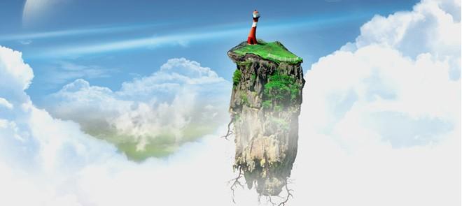 悬浮山动画场景制作教程