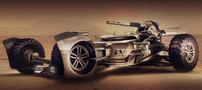 Zbrush概念赛车高精度模型