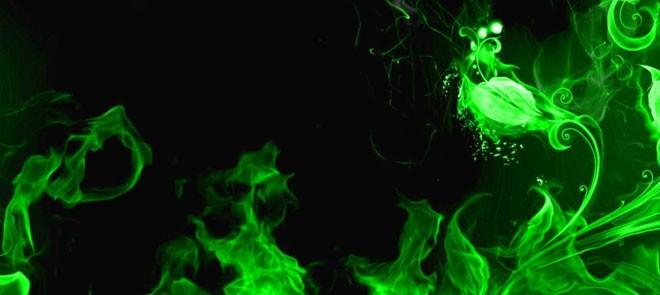 AK系列第107期 绿烟效果