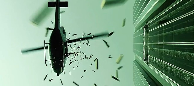 AE特效教程-《黑客帝国》直升机战斗场景制作