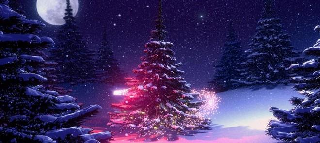 AE特效教程-圣诞快乐雪景制作