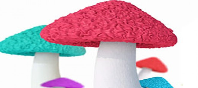 C4D小蘑菇 建模置换贴图的巧妙用法