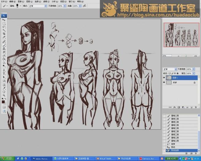 人体结构-女