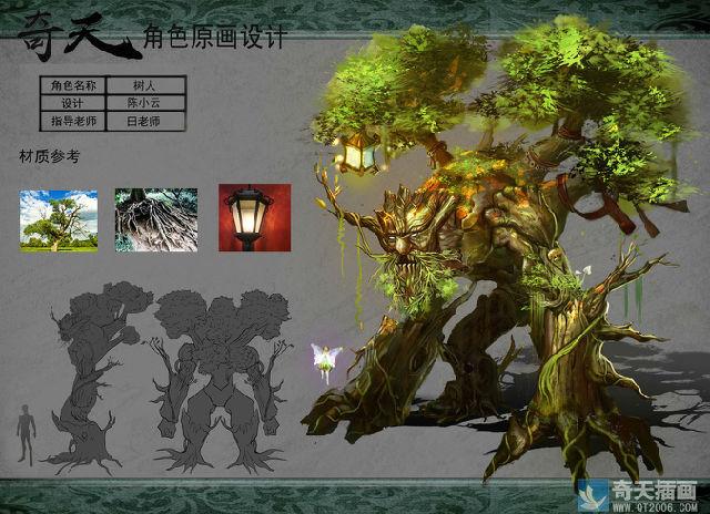 游戏原画角色设计培训