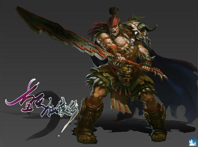 游戏人物角色概念设计| 装备道具设定| 怪物boss设定| &