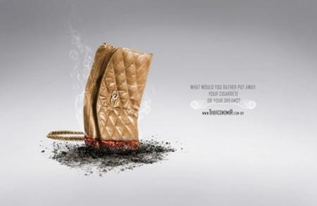 非常有创意的禁烟广告欣赏图片