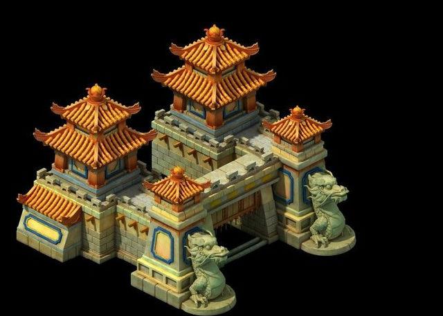 经典游戏场景模型_2d游戏建筑模型