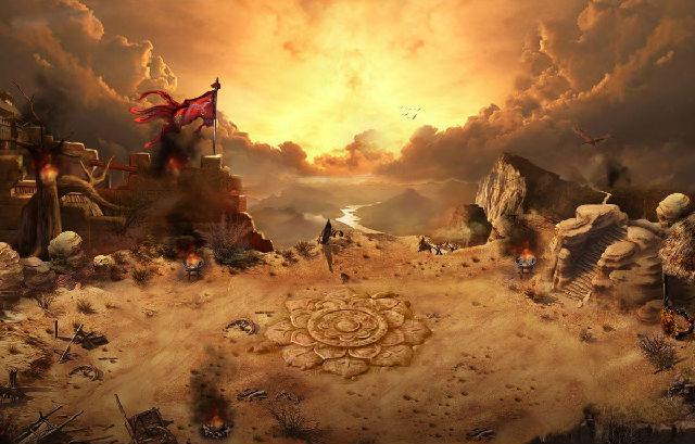 中国古代风格游戏原画作品欣赏