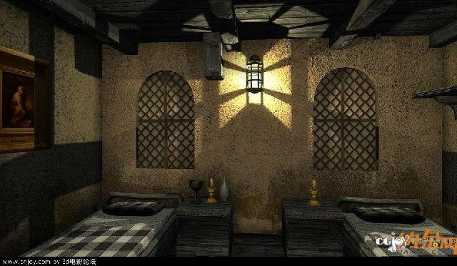 中世纪小酒馆模型库_游戏设计模型素材