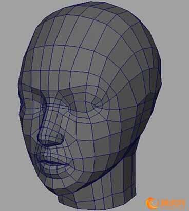 maya教程制作古典少女模型2
