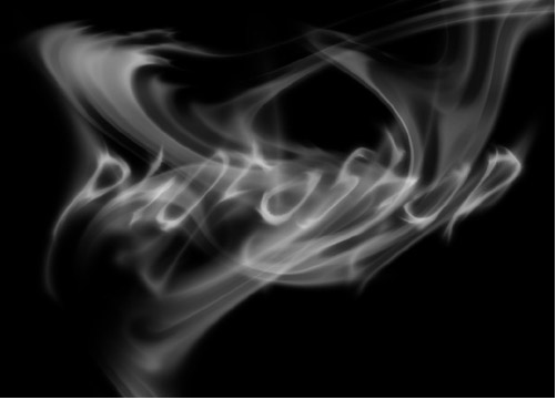 PS鼠绘一缕逼真的烟雾