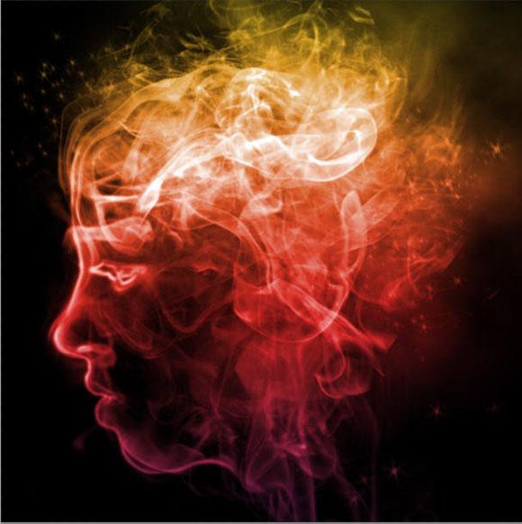 ps烟雾笔刷_PS特效实例:制作一张色彩斑斓的幻想烟雾头像_翼狐网