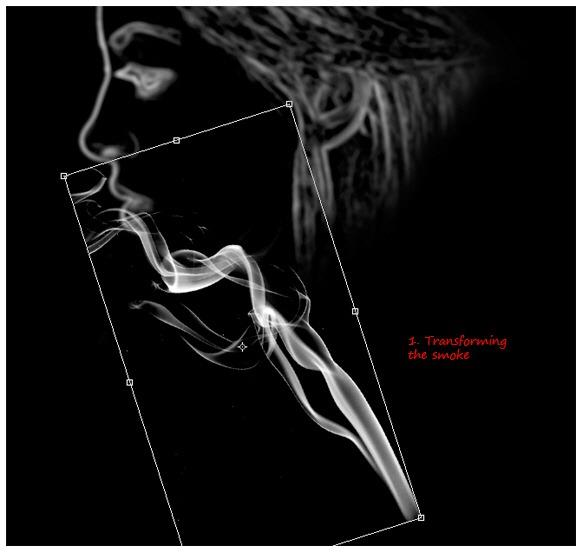 PS特效实例 制作一张色彩斑斓的幻想烟雾头像