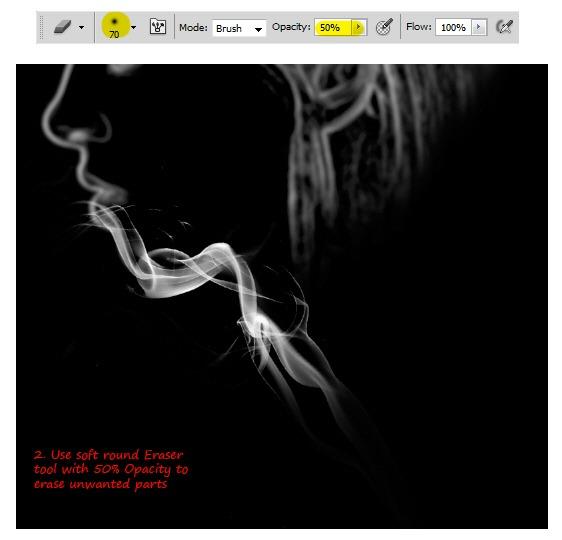 PS特效实例 制作一张色彩斑斓的幻想烟雾头像 -PhotoshopPS特效实