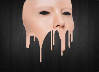 ps人物图片:v人物一张音乐特效溶化教程脸部考吧室内设计效果图图片