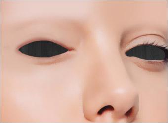 """物脸部溶化图片步骤图3"""""""
