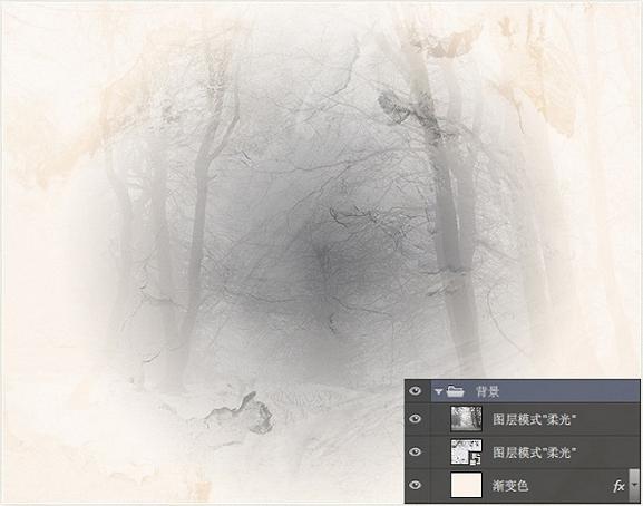 """""""ps图像合成:打造超美刘亦菲复古插画海报步骤图1"""""""