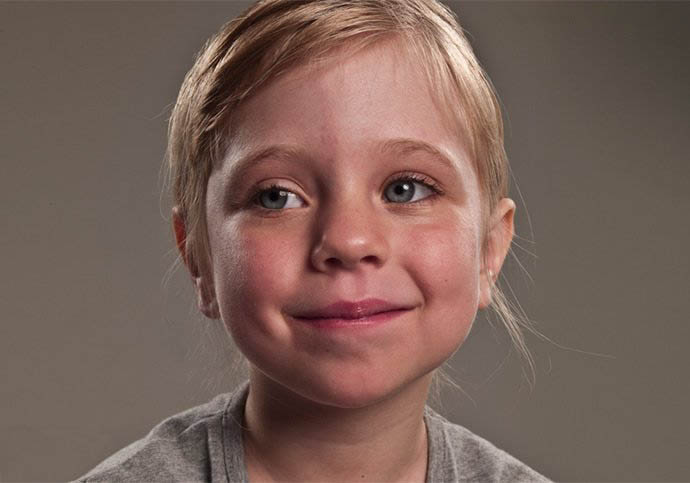 photoshopps特效实例:打造一张返老还童效果的脸
