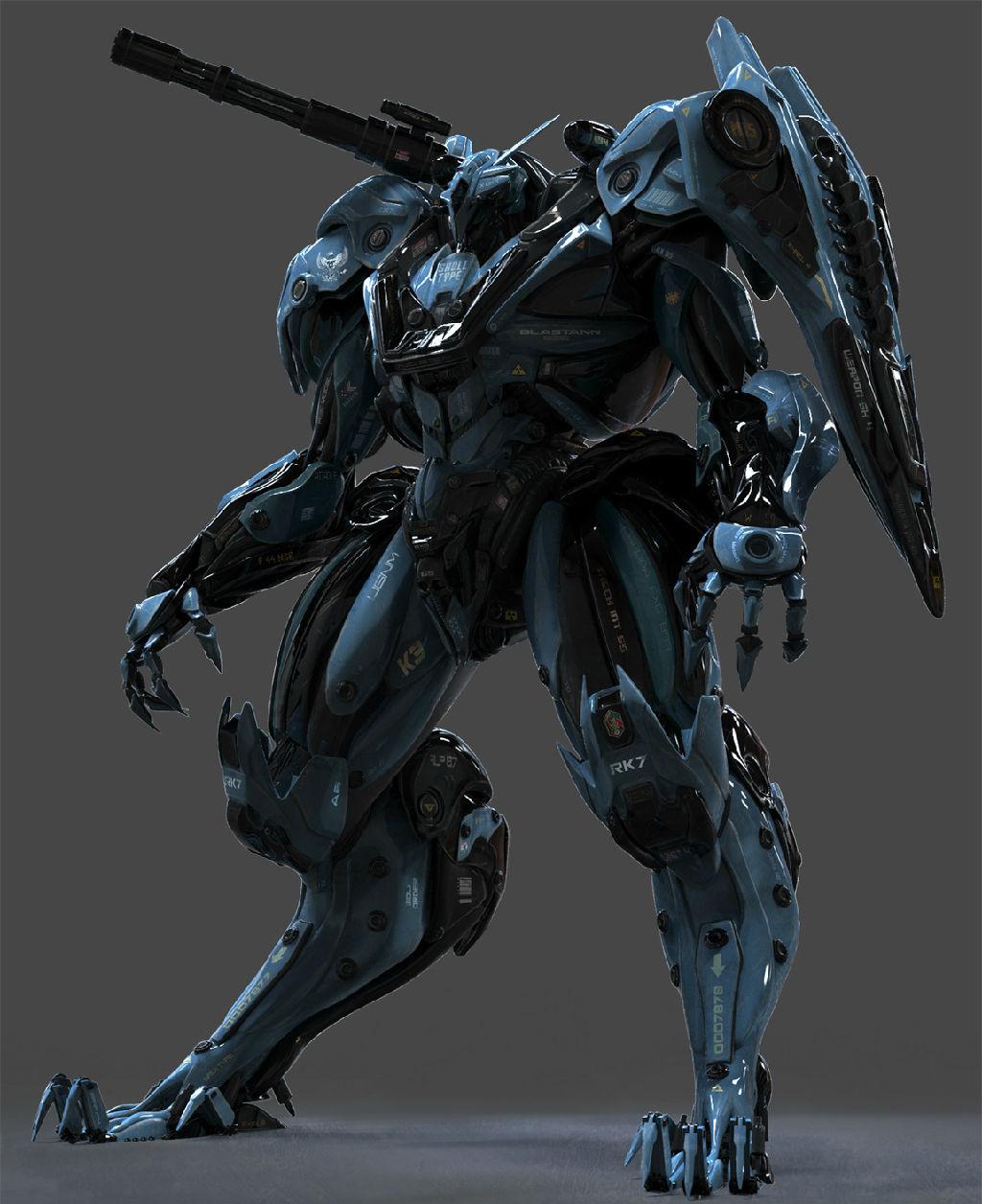 【机械类科幻类设计参考】85p-3套