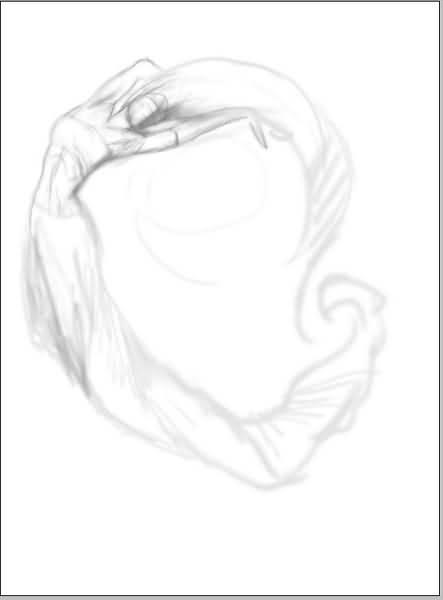 素描鼻子基础步骤画法