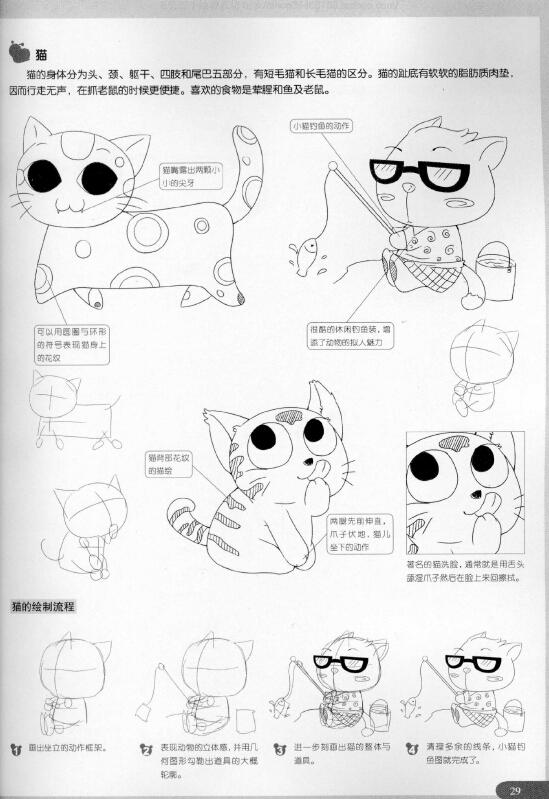 超级漫画素描技法—卡通动物篇