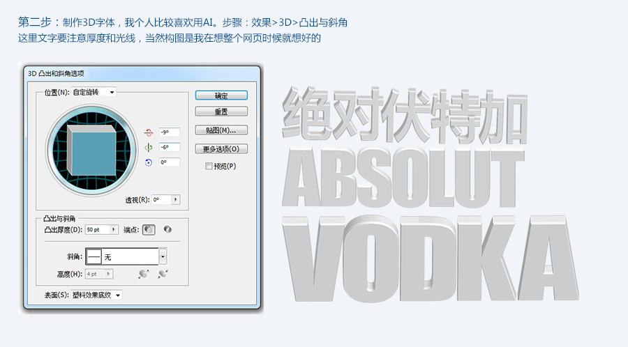 photoshopps制作创意的3d文字海报合成思路解析
