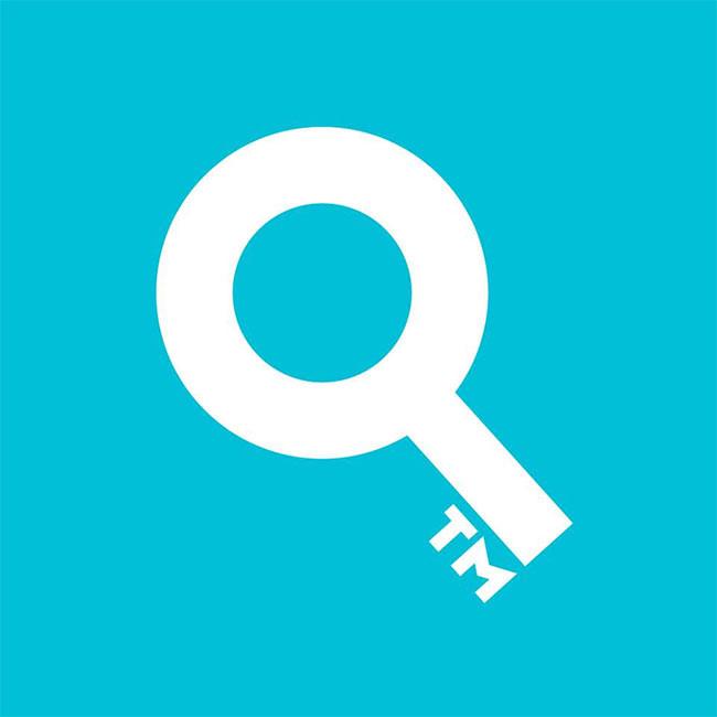 创意logo quillsen的tm钥匙商标