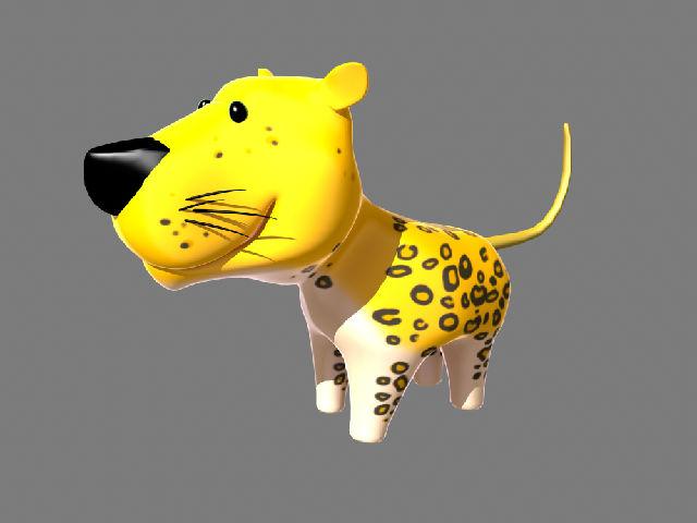 q版动物模型,maya专用