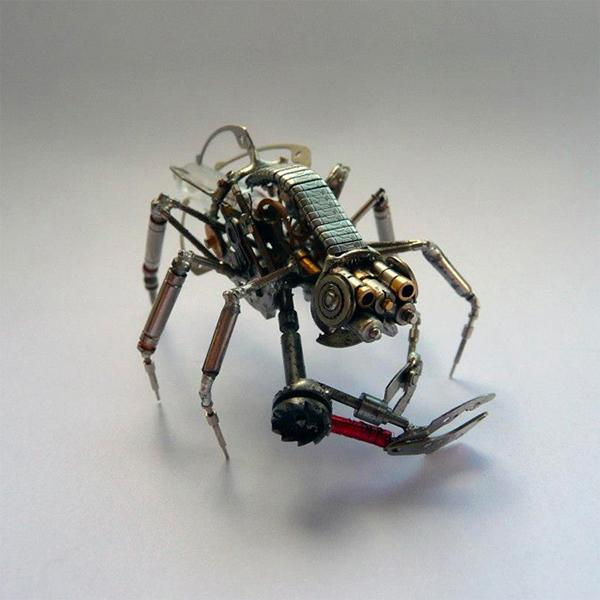 废品制作昆虫手工制作大全