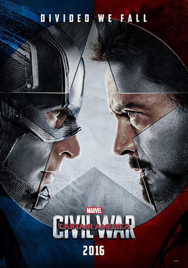 《美国队长3》预告曝光 复联内战美队钢铁侠决裂