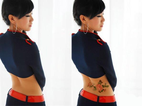 ps教程-给美女添加逼真的纹身效果