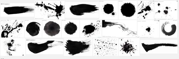 PS打造水彩泼墨风格的人像画